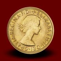 7,98 g, Gold coin / 1 Pfd Elizabeth II