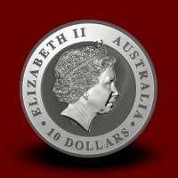 311,347 g, Srebrna Avstralska koala / Australian Koala Silver Coin