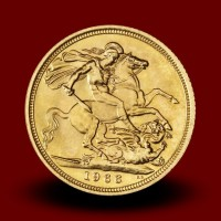 7,98 g, Zlati kovanec / 1 Pfd Elizabeth II