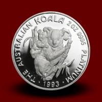 62,313 g, Australian Koala Platinum Coin - 1994