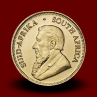 3,9940 g, South Africa 1 Rand Gold Coin