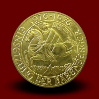 13,5g, Zlati kovanec / 1000 ATS, Babenberger