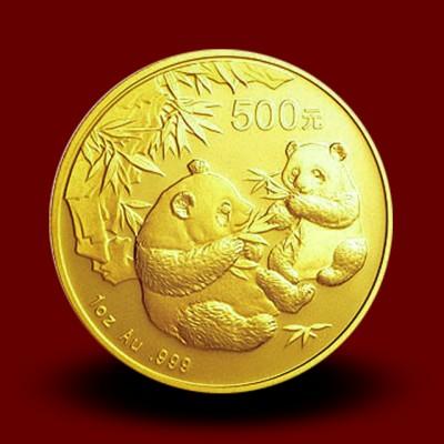 31,134 g, China Panda Gold Coin (2006)