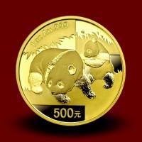 31,134 g, Zlati Kitajski panda (2008)