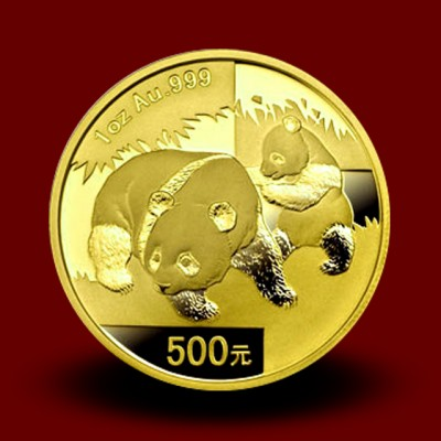 31,134 g, China Panda Gold Coin (2008)