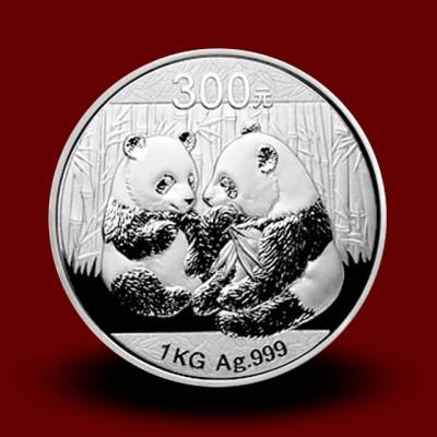 1000 g, China Panda Silver Coin (2009)