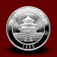 15,57 g, China Panda Silver Coin (1995)