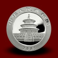 31,13 g, China Panda Silver Coin (2002)