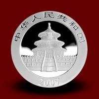 31,13 g, China Panda Silver Coin (2007)