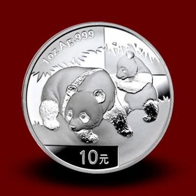 31,13 g, China Panda Silver Coin (2008)