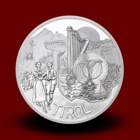 17,30 g, Tirol (2014), Austria Piece by piece Series - PROOF