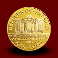 622,07 g, Vienna Philharmonic Gold Coin 2009