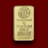 1 g,  Zlatna poluga