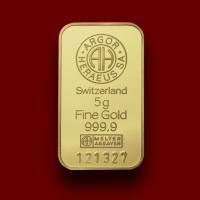 5 g, Zlatna poluga