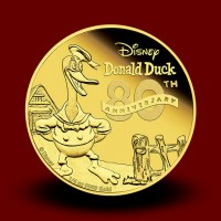 7,777 g, Zlati Disney - Jaka Racman 80th Anniversary of Donald Duck