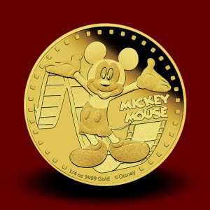 7,777 g, Zlati Disney Mickey & Friends - Miki Miška