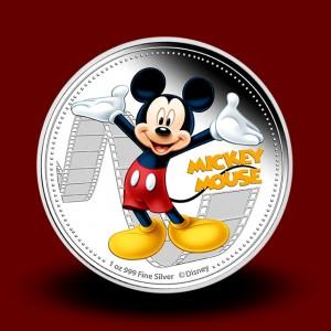 31,135 g, Srebrni Disney Mickey & Friends - Miki Miška