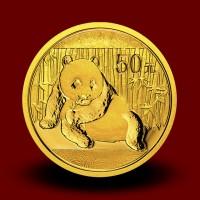3,113 g, China Panda Gold Coin: NEW 2014