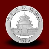 31,1035 g, China Panda Silver Coin: 2014, 2015
