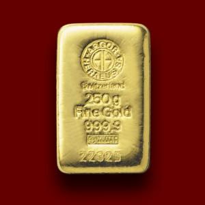 250 g, Gold Bar