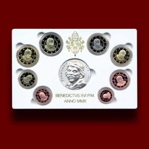 Zbirka evrokovancev s srebrno medaljo 2010