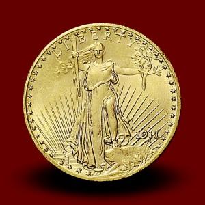 33,44 g, Zlati 20 USD, Saint Gaudens (1911)