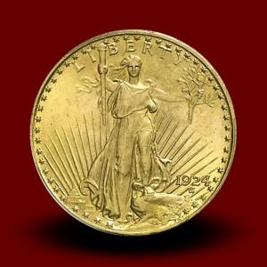 33,44 g, Zlati 20 USD, Saint Gaudens (1924)