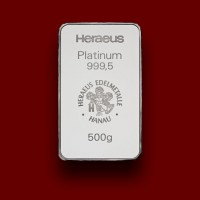 500 g, Platinum Bar