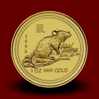 31,162 g, Australian Lunar Gold Coin - rat (1996)