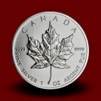 31,1035 g, Canadian Maple Leaf Silver Coin