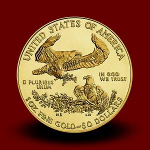 33,930 g, Zlati Ameriški orel