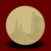 7 g, 1000. obletnica prve pisne omembe Bleda I.kov (2004) **