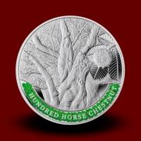 Zbirka srebrnih kovancev NAJSTAREJŠA DREVESA NA SVETU