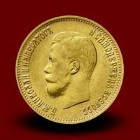 4,3 g, Zlati 5 Rubel, Nikolaj II (1899)