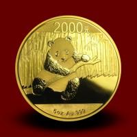 155,65 g, Zlatni Kineski panda (2014)