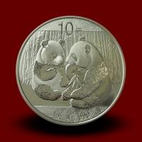 31,13 g, China Panda Silver Coin (2009)