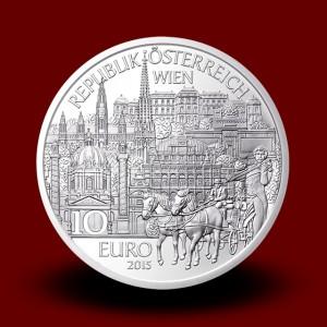 17,30 g, Dunaj (2015), serija Avstrijske zvezne dežele - PROOF
