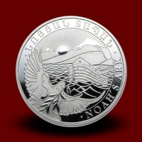 15,6 g, Srebrni kovanec Noetova barka