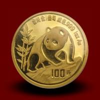 31,134 g, Zlati Kitajski panda (1990)