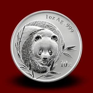 31,13 g, China Panda Silver Coin (2003)