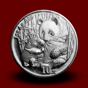 31,13 g, China Panda Silver Coin (2005)