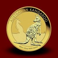 15,594 g, Zlati Avstralski kenguru 1989 - 2016