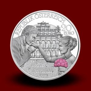 20 g, Vienna Opera Ball Silver Coin 2016