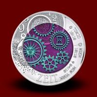 16,5 g (Ag/Nb), Čas (2016), bimetalni kovanec