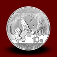 30 g, China Panda Silver Coin 2016