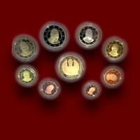 Zbirka evrokovancev z zlatnikom 2016