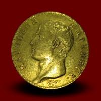 6,45 g zlatnik 20 FR Napoleon I, AN 13, 1804/5-A