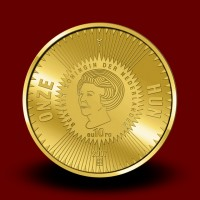 Zlatnik Michiel de Ruyter, 400. obletnica rojstva - set