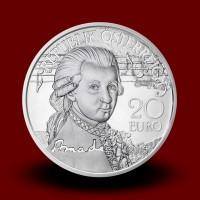 20 g Srebrnik Mozart The Genius 2016, serija WAM, življenje v treh dejanjih