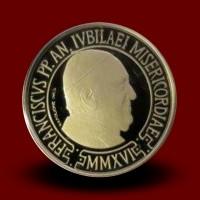 3 g, zlatnik Pontificato di S.S. Francesco - 2016